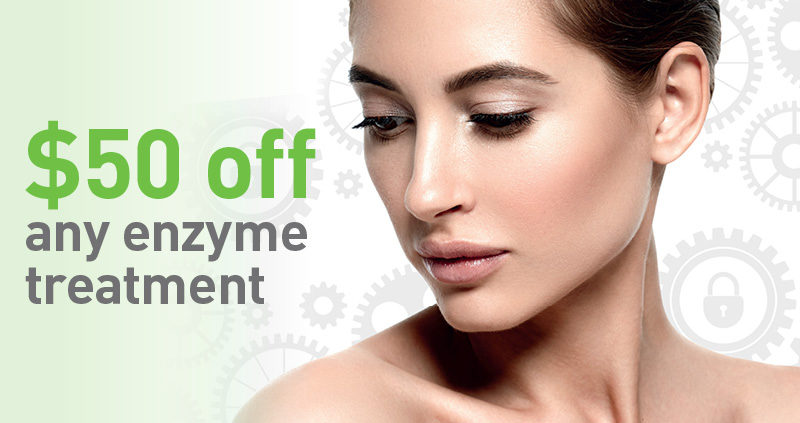$50 off any enzyme treatment
