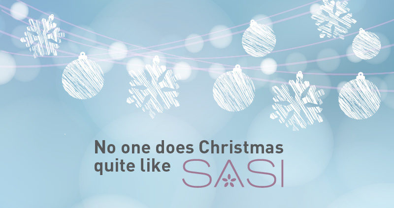 No one does Christmas quite like Sasi