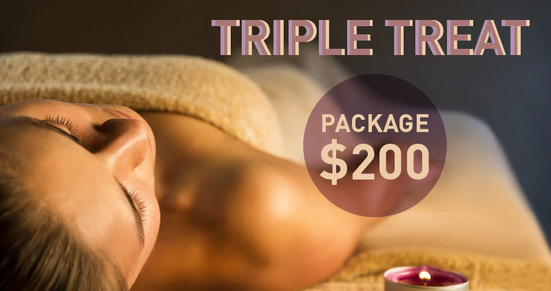 Triple Treat Package $200