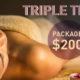 Triple Treat Package $200