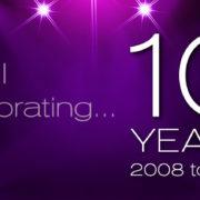 Sasi celebrating 10 years - 2008 to 2018