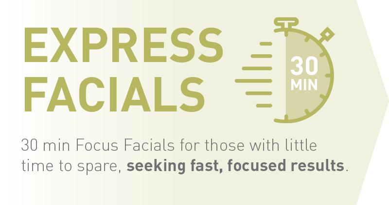 Express facials