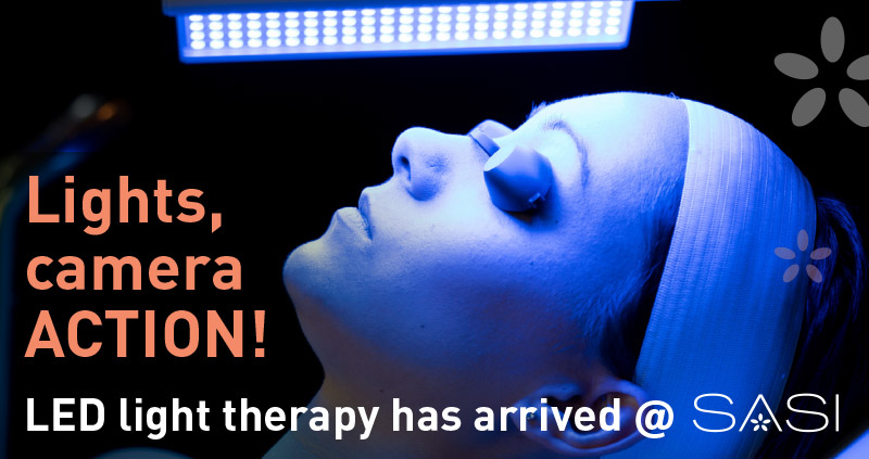 LED light therapy has arrived at SASI – introductory offer